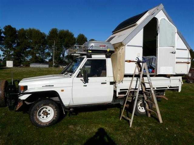 1997 Toyota Landcruiser 4WD Motorhome for sale NSW