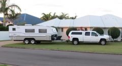 2011 Chevrolet Silverado 21Ft Bushtracker Caravan for sale QLD