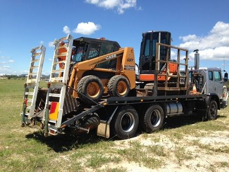 Excavator, Bobcat Acco 2350 Truck Earthmoving Combo for sale NSW