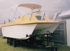 Shark Cat Twin Hull Boat For Sale Qld Burrum Heads Sold
