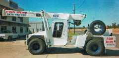 Plant and Equipment for sale NSW Franna AT12 4WD Crane