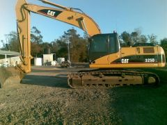 30T 325DL CAT Excavator Earthmoving Equipment for sale QLD