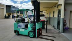 Mitsubishi 2 tier forklift plant and equipment for sale Seven Hills NSW