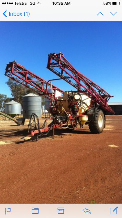 Hardi Commander 5033 Boomspray Farm Machinery for sale NSW