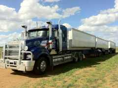 AB Triple Tipping Trailers and Dolly Mack Superliner Prime Mover Truck sale