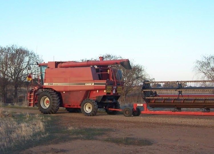 Case 2188 Header Farm Machinery for sale Vic