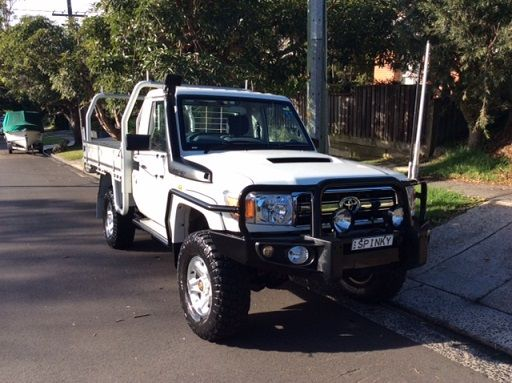 Cl Ified Toyota Landcruiser Gxl Ute For Sale Nsw Sydney