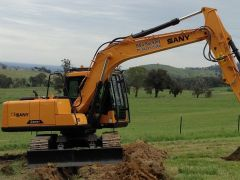 Sany 2013 SN 135 13.5Ton Excavator for sale Euroa Vic
