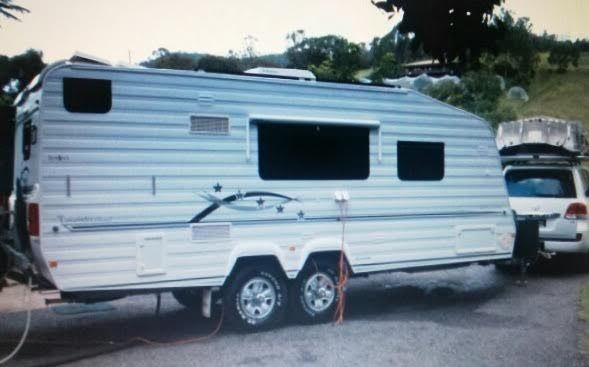 Awesome KOKODA 2UP SEMI OFF ROAD CARAVAN For Sale In Ashgrove Brisbane QLD