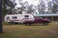 Caravan for sale TAS Future Systems Fifth Wheeler Caravan and Ford F250