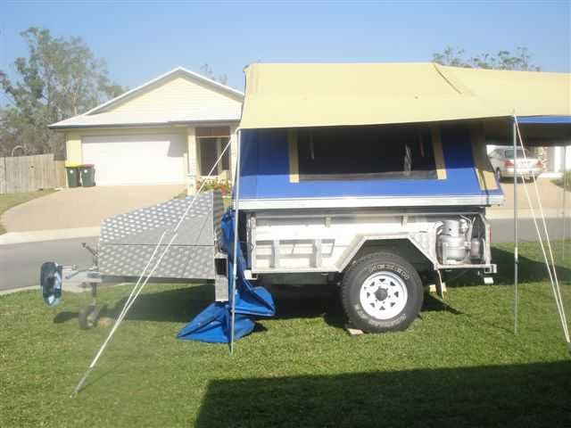 Beautiful Tourer Hard Floor Camper Trailer For Sale In GREENMOUNT Queensland