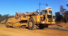 1980 Caterpillar 623B Scraper Earthmoving Equipment for sale Melbourne Vic