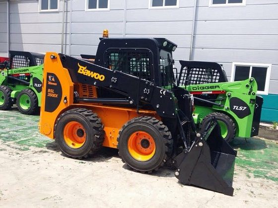 Bawoo Skid Steer Loaders Earth Moving for sale Ingleburn NSW