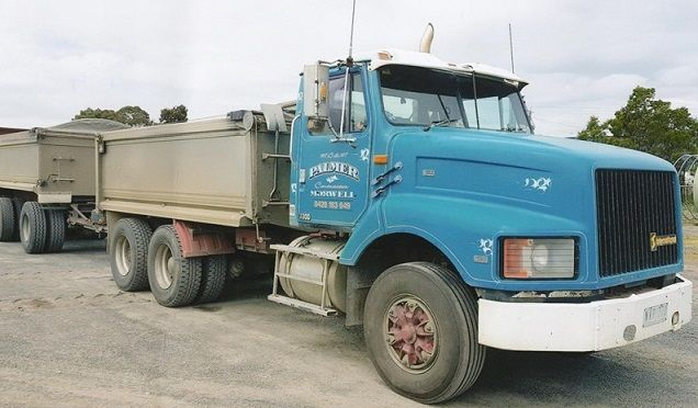 1997 International S-Line Tipper Truck & Dog Trailer for sale Morwell Vic