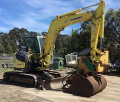 2011 Yanmar V1080 Excavator for sale Hoppers Crossing Vic
