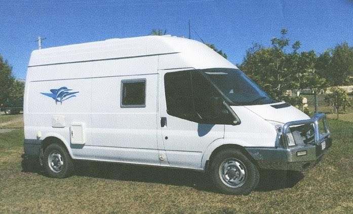 2011 Ford Transit Motorhome for sale QLD
