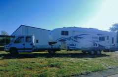 Caravan for sale NSW Iveco 4 Ton Truck, Sierra 5th Wheeler Caravan