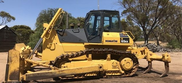 D65EX-12 Komatsu Bulldozer Earthmoving Equipment for sale Broomehill WA