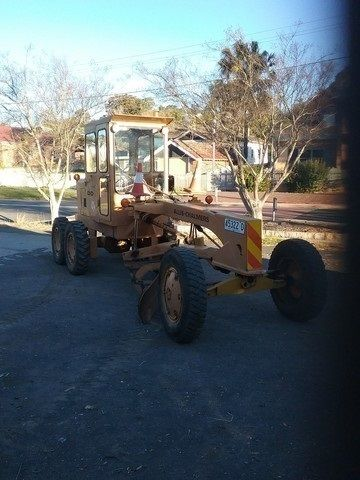 1972 Allis Chalmers DD22 Grader Earthmoving Equipment for sale Jamberoo NSW