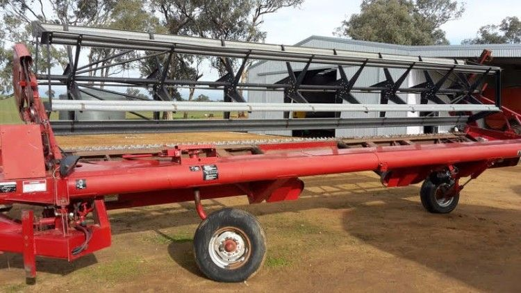 Case IH 8220 Windrower Farm Machinery for sale NSW