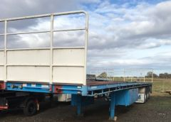 2006 Freighter 48ft Flat Top Trailer for sale Vic Rock Bank
