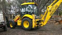 New Holland LB11OB 4WD Backhoe Loader for sale Vic Ballarat