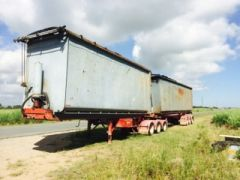 Moores B-Double Tipping Trailer for sale QLD Ormeau