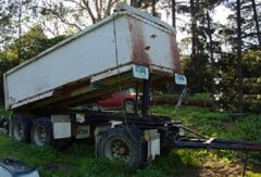 Chris's Body Builders 14M3 Super Dog Tipping Trailer for sale Vic