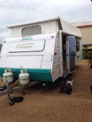 Cool 18 Foot 6 Inch Geist Caravan For Sale QLD Imbil