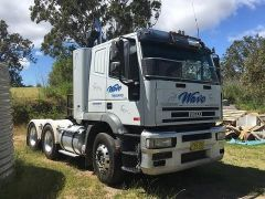 2002 Iveco Eurotech Prime Mover Truck for sale NSW