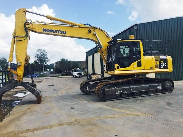 Komatsu PC270LC-8 Excavator for sale NSW