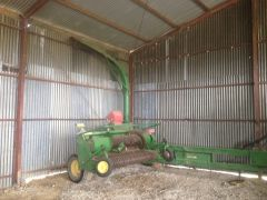 John Deere 3975 Pull Type Forage Harvester Farm Machinery for sale Vic