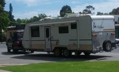2014 Custom built Bellagio Platino Caravan for sale Vic Shepparton