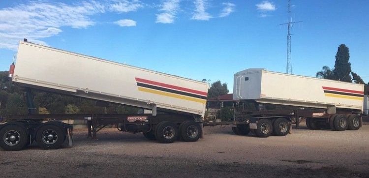 Freightmaster Bogie Road Train Trailers for sale Kimba SA
