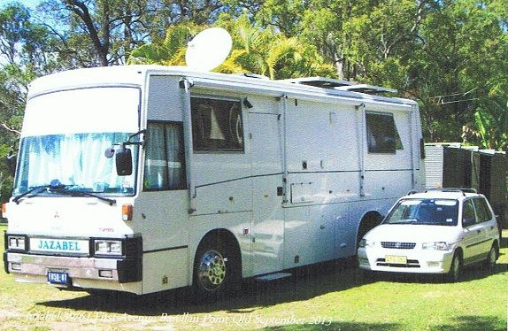 Package Deal Mazda Car - Trailer Mitsubishi Fuso Motorhome for sale NSW