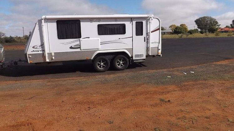 2010 Jayco Sterling Outback Poptop Caravan for sale NSW