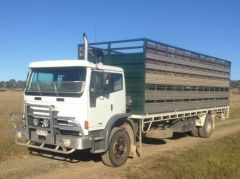 Cattle/Sheep Decks 2004 Iveco truck for sale QLD