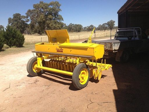 Series 1 Conner Shea 18 Row Disc Drill Farm Machinery for sale SA