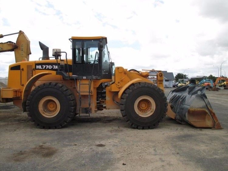 Hyundai HL 770-7A Loader for sale Albion Park NSW
