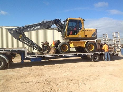 Volvo EW160B Excavator for sale SA Murray Bridge