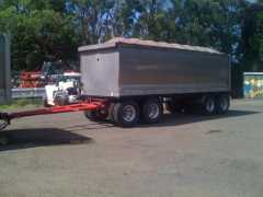 Preston 2007 Quad Dog Trailer for sale NSW Tomago