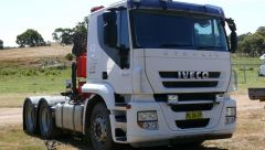 Truck for sale NSW Yass Crane, Trailer, Iveco Stralis Truck