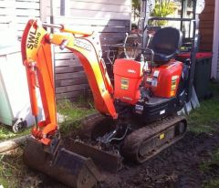 Trailer - Kubota K008-3 2014 Excavator for sale NSW