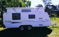 Caravan for sale NSW 18 foot Jayco Sterling Poptop Caravan