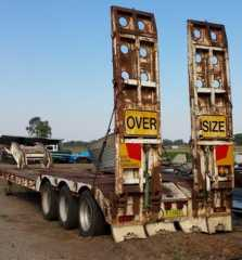 Tri-Axle Alison Low Loader Trailer for sale NSW