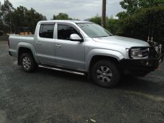 Volkswagon Amarok Trend Line Silver Twin Cab 4x4 Ute for sale NSW Adelong