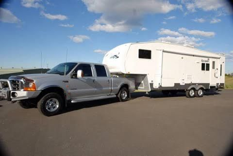 Ford F250 Ute & 2006 Forest River Sahara 5th Wheeler Caravan for sale NSW