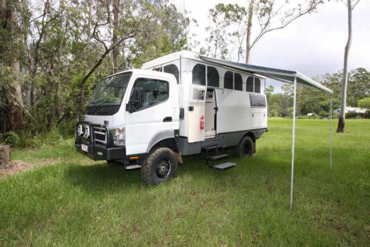 Creative  Fuso MK117J Motorhome For Sale QLD  Motorhome Sales And Auctions QLD