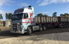 2012 Volvo FH16 Prime Mover Truck for sale Vic Wood Wood