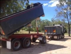 1982 Roadmaster Steel Bin Trailer for sale QLD Palen Creek - URGENT SALE!!!